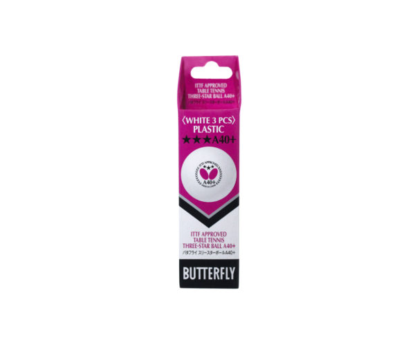 Atlanta Deportes - Set de bolas 3-start x3 Butterfly