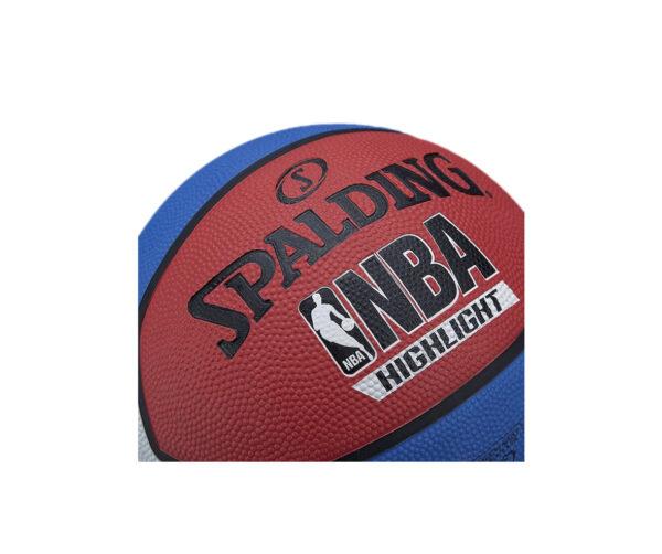 Atlanta Deportes - Balón Baloncesto NBA Highlight Spalding - 5