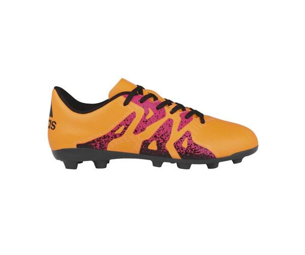 Atlanta Deportes - Guayos Niños X 15 4 FXG amarillo Adidas 1