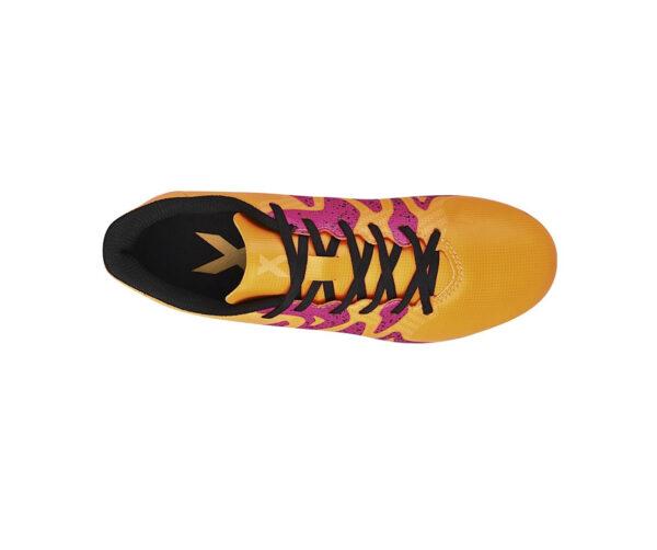 Atlanta Deportes - Guayos Niños X 15 4 FXG amarillo Adidas 3