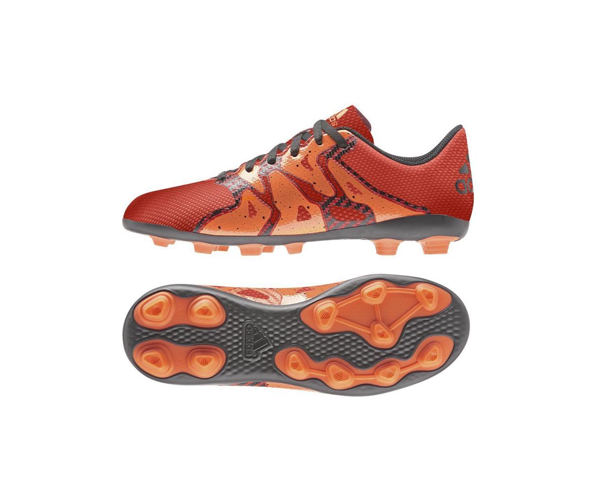 Atlanta Deportes - Guayos Niños X 15 4 FXG Naranja Adidas
